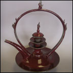 Flaming Teapot 1