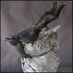 Wild Goat Teapot - Homage to Paul Soldner