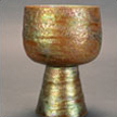Gold Rainbow Footed Bowl