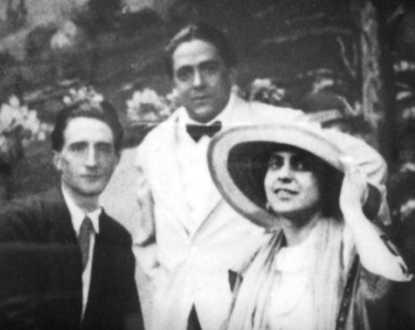 Beatrice Wood, Marcel Duchamp, and Francis Picabia 1917
