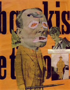 Art Critic by Raoul Hausmann