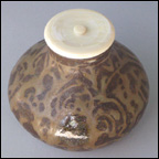 Tea Caddy with Ash Glaze