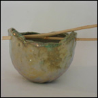 Gold Luster Pot