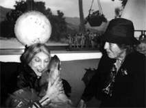 Beatrice Wood and Rosalind Rajagopal, 1982