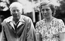 Robert Logan and Rosalind Rajagopal, 1940