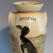 Great Auk Butter Churn