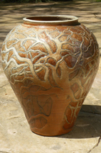 Oak Tree Pot