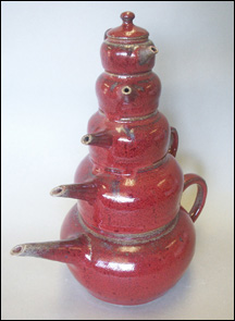 Stacked Teapot