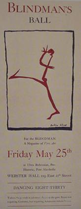 The Blindman's Ball Poster
