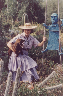 Beatrice Wood in Ojai, 1960