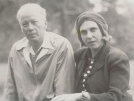 Robert Logan and Beatrice Wood