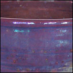 Iridescent Blue Chalice - detail