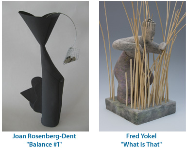 Joan Rosenberg-Dent - Balance #1 and Fred Yokel - What is That
