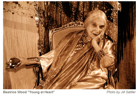 Beatrice Wood, Young at Heart - Photo by Jill Sattler