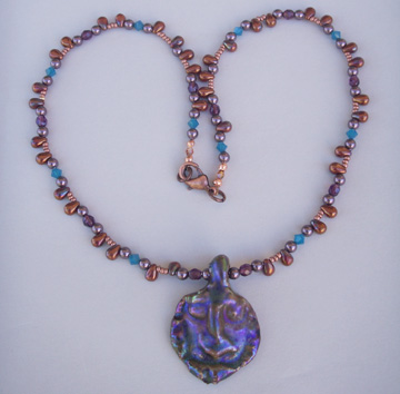 Lustre Tile Series Goddess Necklace