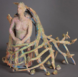 Allison Newsome - Post Pre-Pottery Figurines